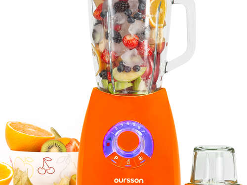 Fresh-Style Standmixer mit Mühle OURSSON BL0642G/OR